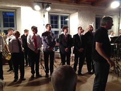The music tutors from the Danish German Brass Academy