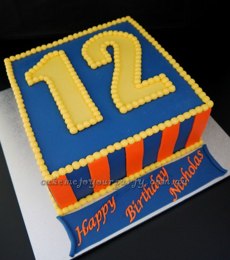 Boys 12th Birthday Cake  Flickr - Photo Sharing!