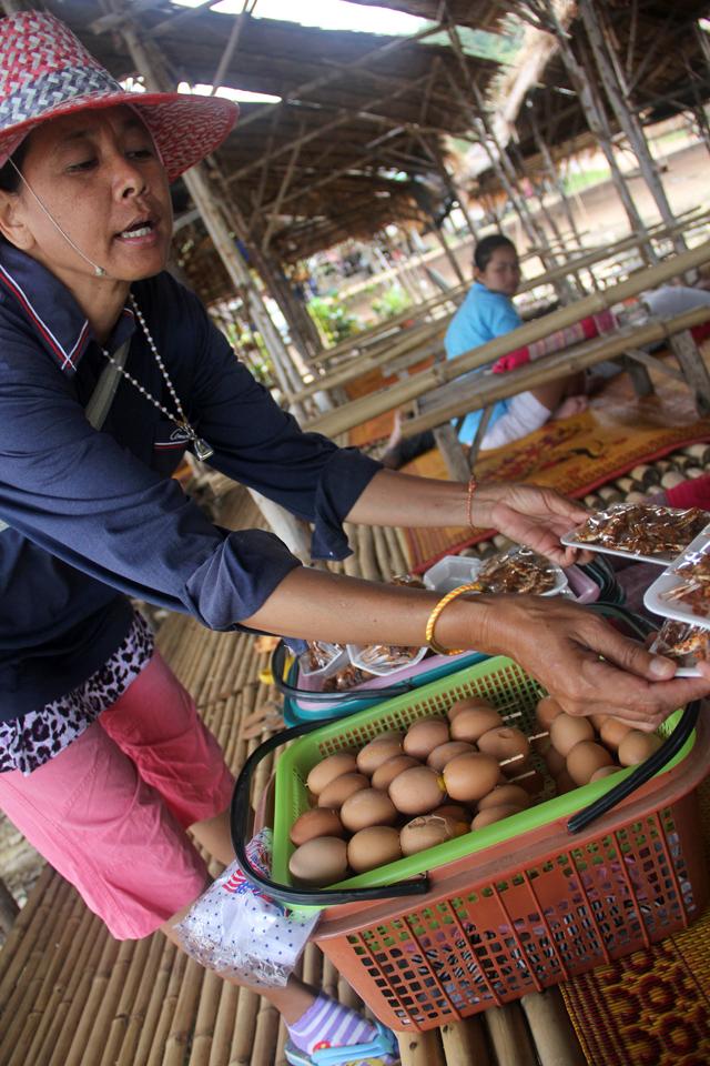 Isaan street food