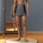 Bad Beat Ruche Skirt