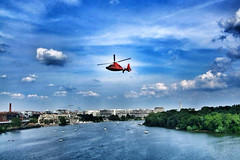 View from the Key Bridge, DC