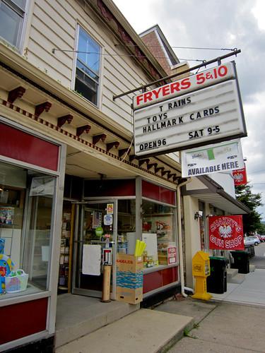 Fryer's 5 & 10 Store Orwigsburg PA