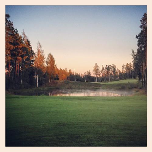 summer suomi finland golf august porvoo 2012 kesä elokuu