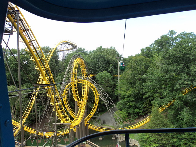 2012 07 31 Busch Gardens Williamsburg Skyride From