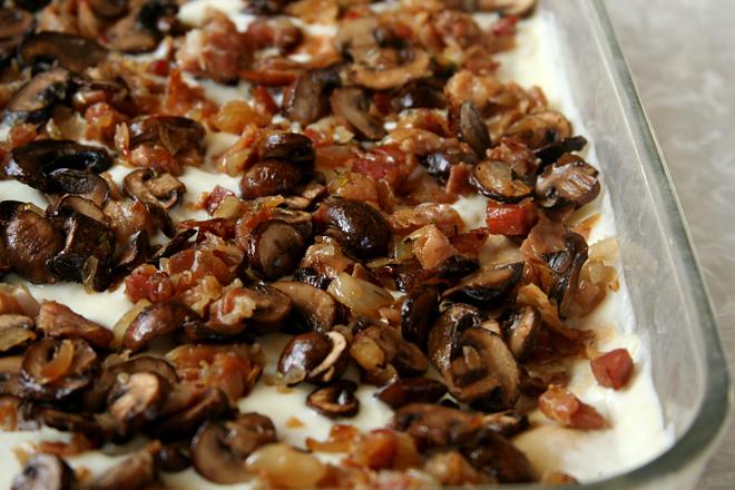 mushroom prosciutto lasagna 6