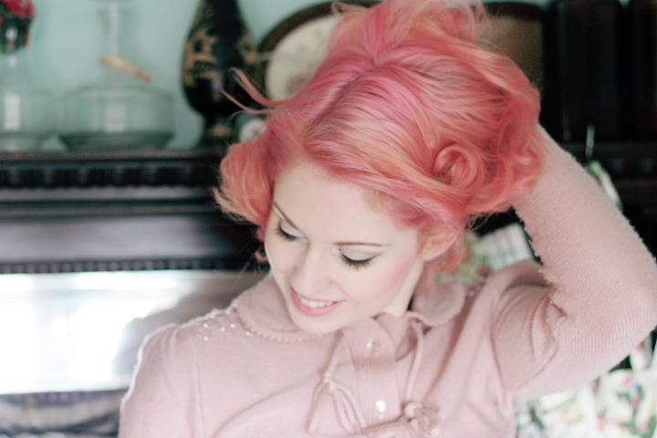 pink hair c