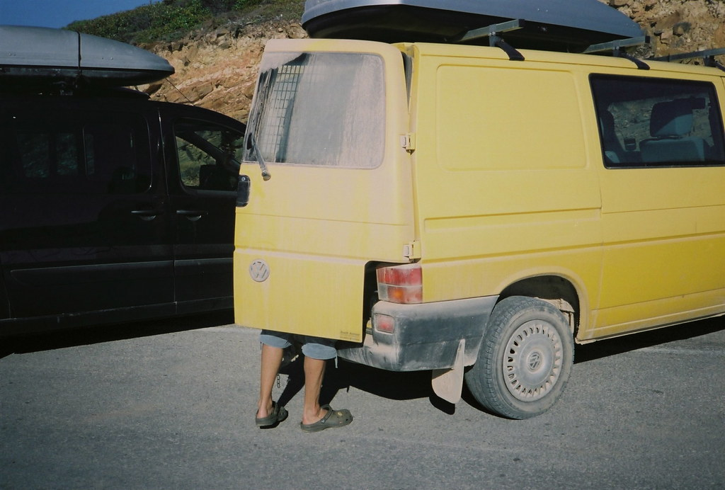 Tom + van, July 2012.