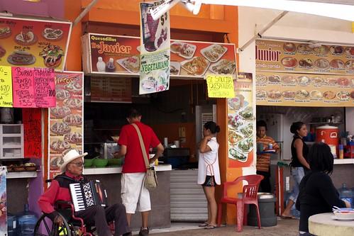 stalls @ parque de las palapas