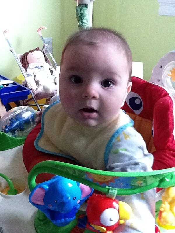 Noah in the Jumperoo