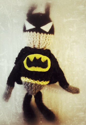 Knits by Britt: Knit Batman Doll