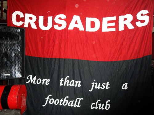 Supporters Club Crusaders Flag