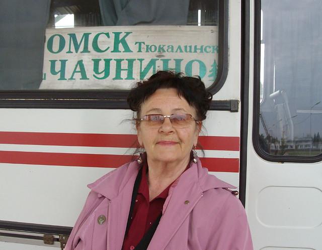 Алла Федина , 6 час до Омска