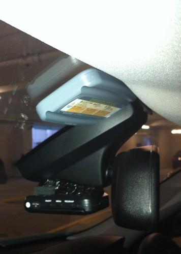 Car Camera And Autotoll Tag