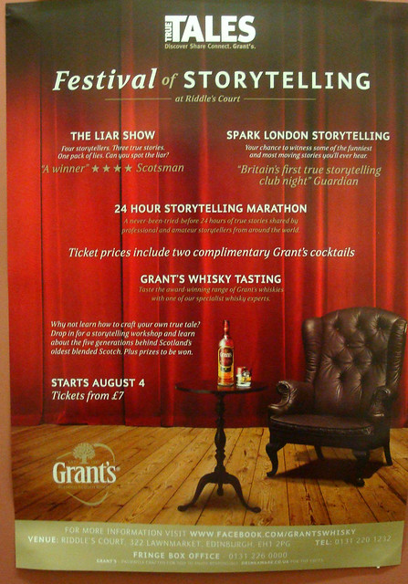 Festival of Storytelling with Spark and Grant