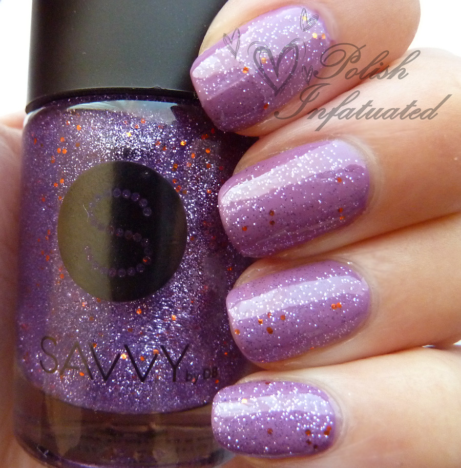 uptown girl layered with purple viking2