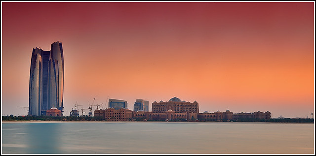 Emirates sunset 1
