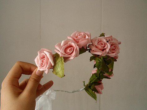 Rose garland complete