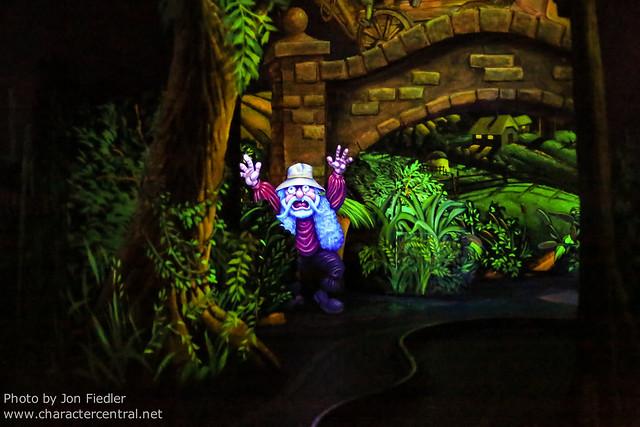 Disneyland July 2012 - Riding Mr. Toad's Wild Ride