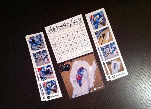 The Ink Calendar #TypeCard