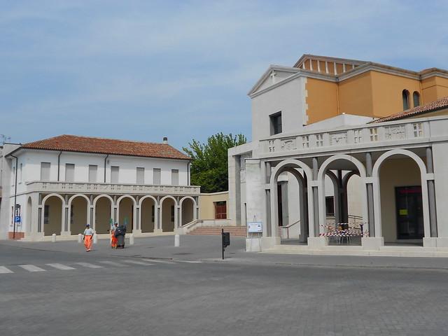 piazza Italia - Tresigallo