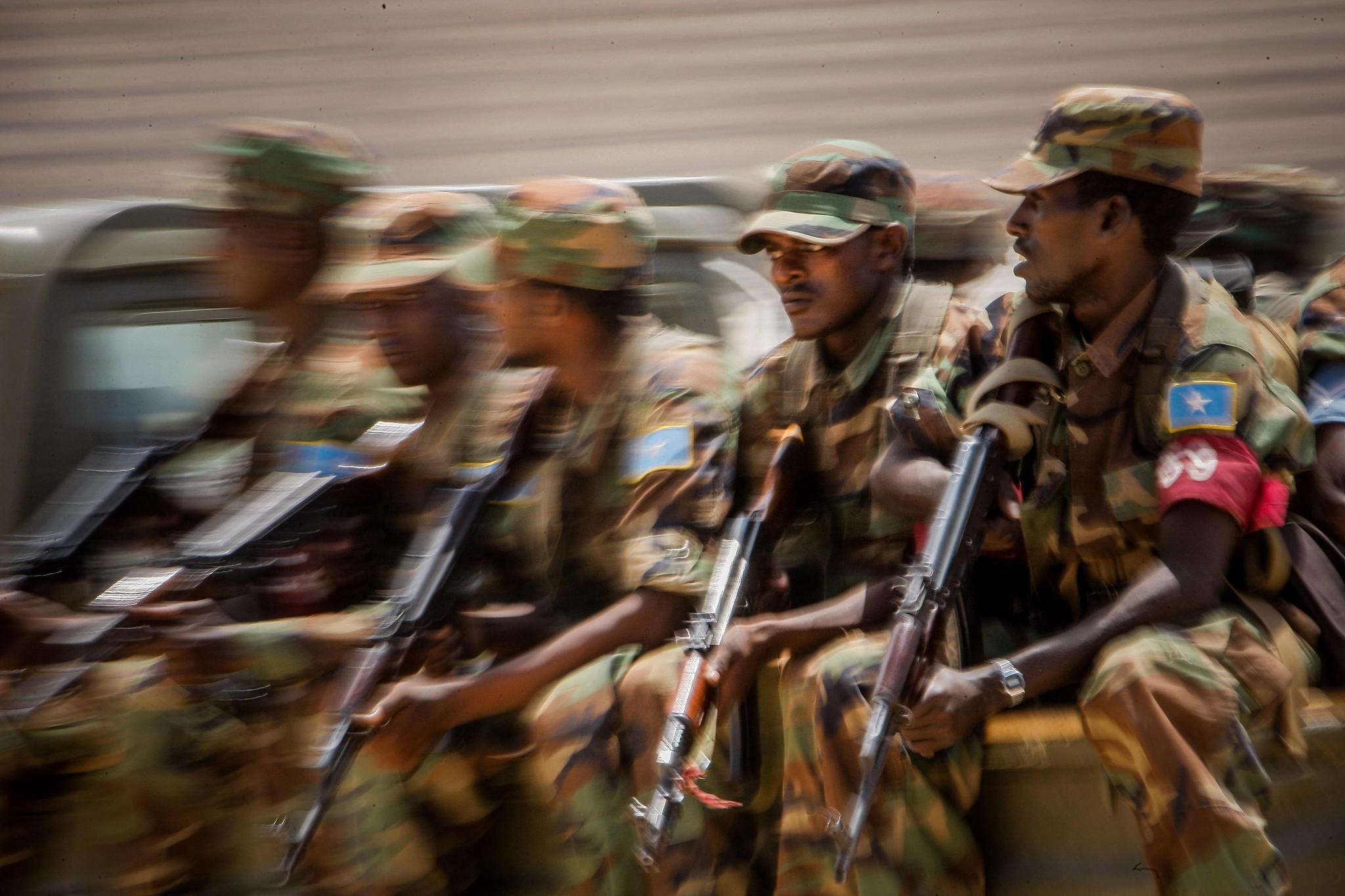 Armée Somalienne / Military of Somalia 7786578658_806c1ce6be_k