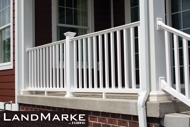 Landmarke vinyl railing flickr photo sharing - Vinyl deck railing lowes ...
