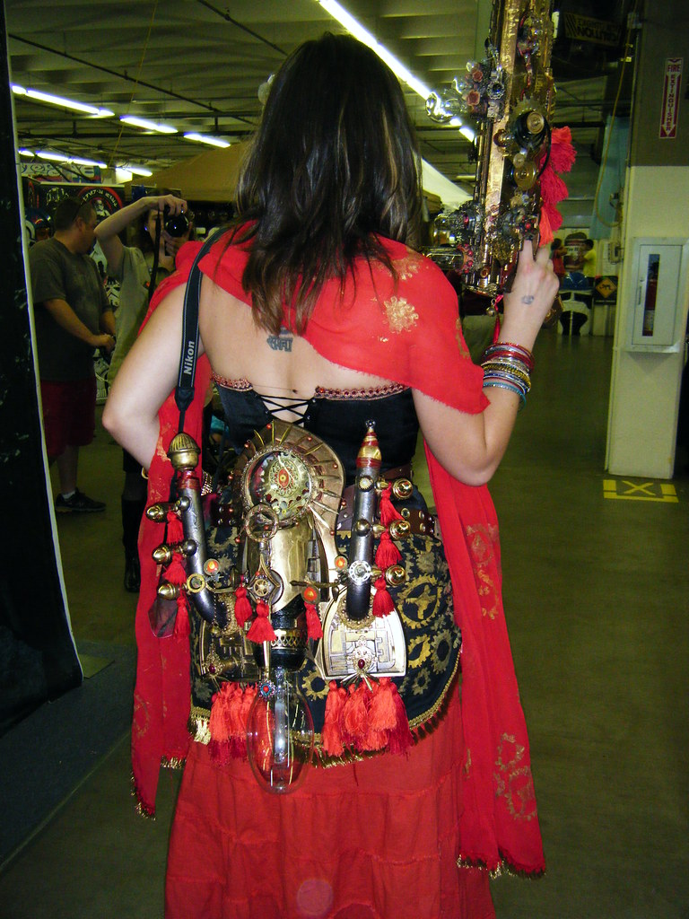 Steampunk garb 6, rear view