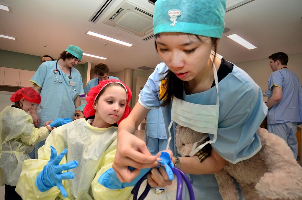 Monash Gippsland's Teddy Bear Hospital 2012