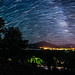 Star Trailing Over Mount Sopris in Carbondale, CO