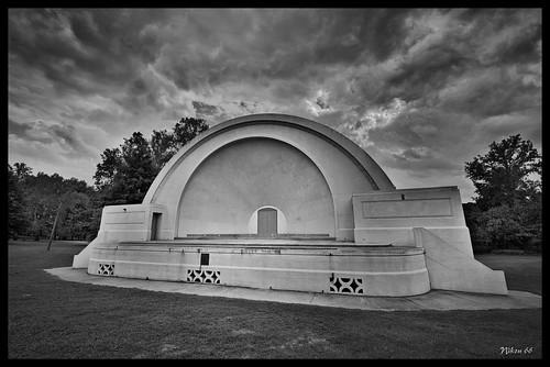 bw illinois nikon bandshell riversidepark d800 murphysboro 1424mmf28nikkor ©copyright