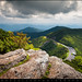 Blue Ridge Parkway - Craggy Gardens Asheville NC by Dave Allen Photography