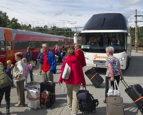 464 Bus para el Tren Oslo-Bergen