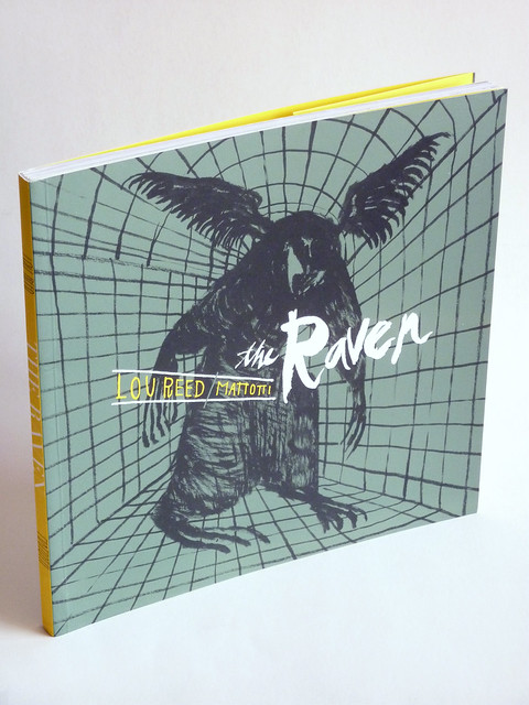 The Raven (Softcover Ed.) by Lorenzo Mattotti & Lou Reed - front