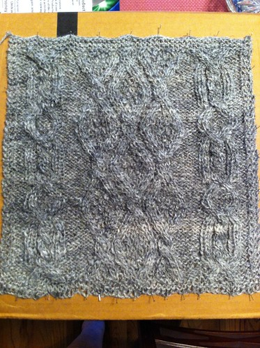 Block 8 of Great American Afghan by BlueDragon2