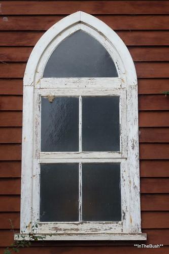 Window on the past, at Buckingham (WA)