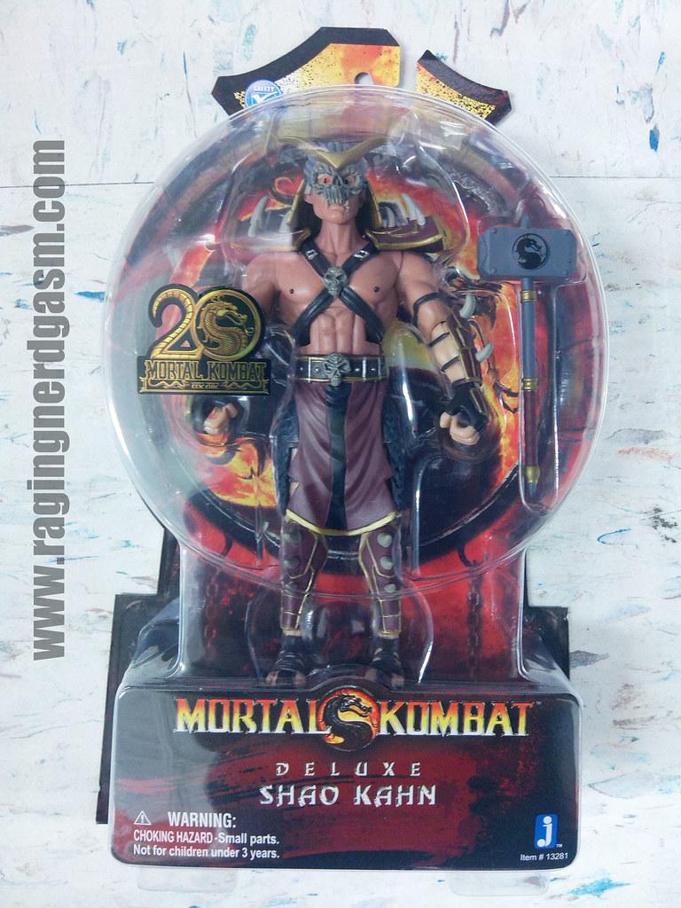 Mortal Kombat Action Figure20th anniversary Deluxe Shao Kahn Jazwares02