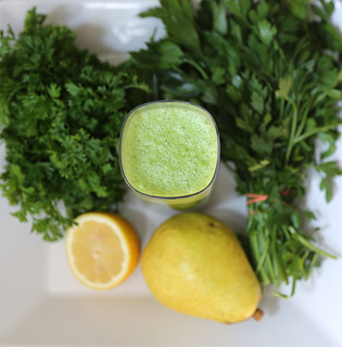 parsley-smoothie