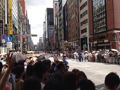 五輪銀座パレード