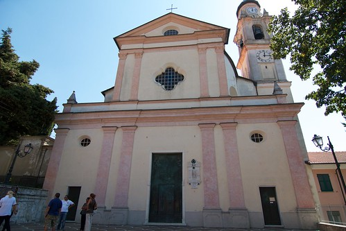 The Facade of Casella's Church