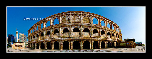 Roman Colloseum in Fishermans Wharf