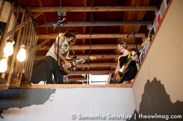 TS & The Past Haunts @ Echo Park Rising 2012