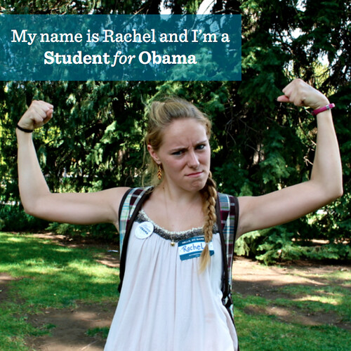 Rachel Students for Obama