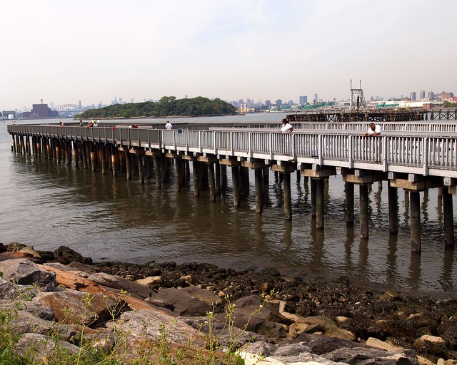 Tiffany street fishing pier barretto point park bronx for Fishing in new york city