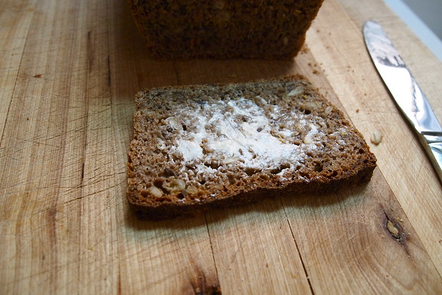 Slice of Vollkornbrot