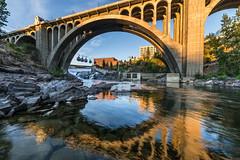 Monroe Street Bridge Downtown Spokane