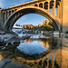 Monroe Street Bridge Downtown Spokane by CraigGoodwin2