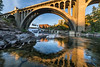 Monroe Street Bridge Downtown Spokane