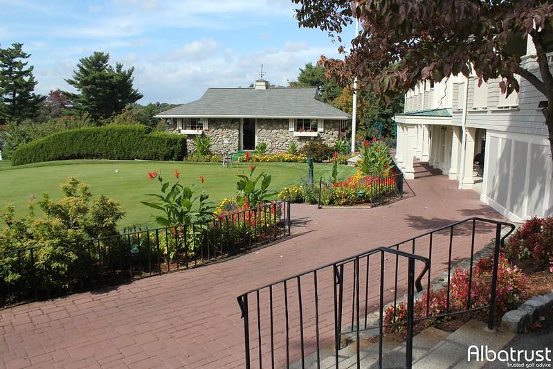 photo du golf Bellevue Golf Club - Parking