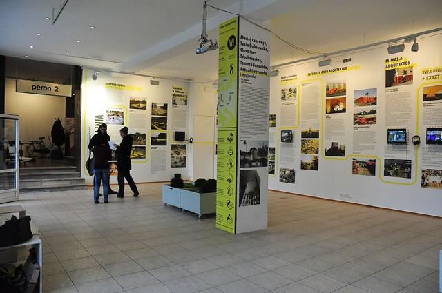 Żółta Linia exhibition, Warsaw