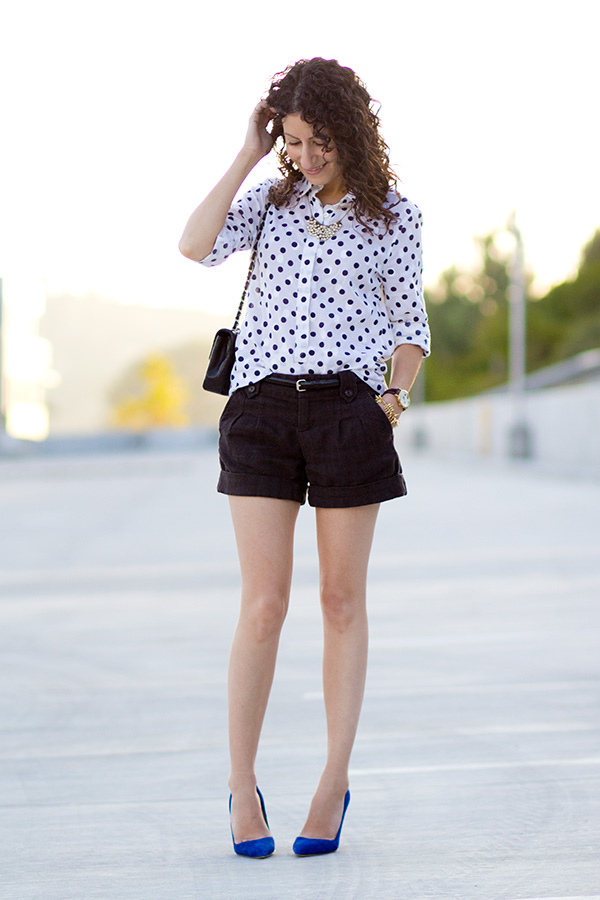Summer Tweed and Polka-Dots